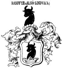 Grb družine Bánffy • A Bánffy család címere • Bánffy family's hatchment