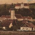 Lendavska panorama (iz začetka XX. st.) • Alsólendvai panoráma (XX. sz. eleje) • Panorama view of Lendava (early 20th century)
