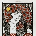 Alfons Mucha: Cocorico (1902), 30 x 23 cm