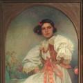 Alfons Mucha: Eliska (1932), 121x 81 cm
