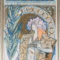 Alfons Mucha: Gismonda (1894), 216 x 75cm