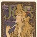 Alfons Mucha: Job (1896), 55 x 42 cm