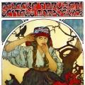 Alfons Mucha: Pevecke sdruzeni (1911) 108 x 80 cm