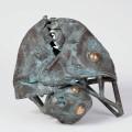 Jakov Brdar: Ribji pogled / Haltekintet / Fish View, 2006, bron / bronz / bronze