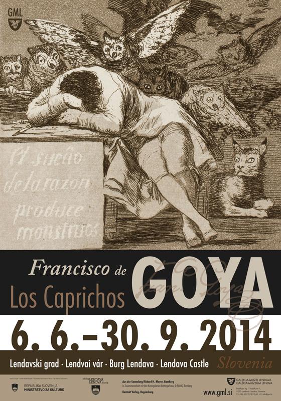 francisco de goya los caprichos On spine in gold on black: caprich / de/ goya 310 x 213 in red slipcase,  318 x  1, bound into los caprichos) (francisco goya, painter, plate 1 of los .
