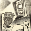 Picasso_Hibou_a_la_chaise