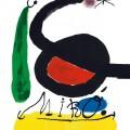 Joan Miró: Galerie Vision Nouvelle (Paris), 1970, barvna litografija, 77 x 55 cm