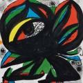 Joan Miró: 'COMPOSITION BARCELONA 1975', 1975, barvna litografija, 54 x 50 cm, WVZ Cramer 1031