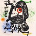 L' œil du faucon, 1971, Barvna litografija/Színes litográfia/Color lithograph, WVZ Cramer 702, 106 x 76 cm