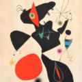 Oda à Joan Miró, 1973, Barvna litografija/Színes litográfia/Color lithograph, WVZ Cramer 175, 104 x 75 cm