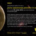 Opazovanje planetov in vesolja_SLO