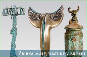 Male plastike v bronu (Mednarodna likovna kolonija Lendava)
